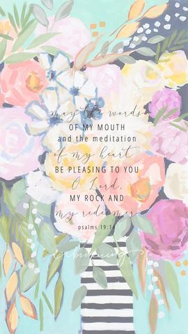 Psalm 19:14 LockScreen
