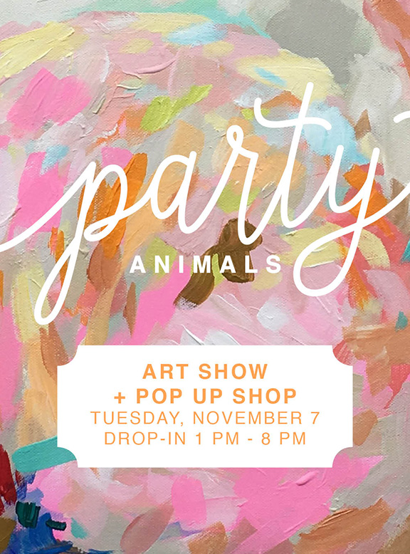 Party Animals Pop Up Shop