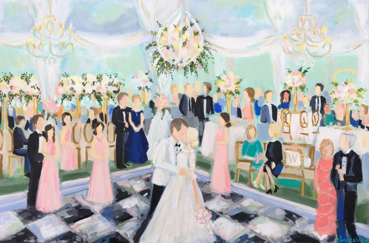 C Brooke Ring - Neal WeddingPainting