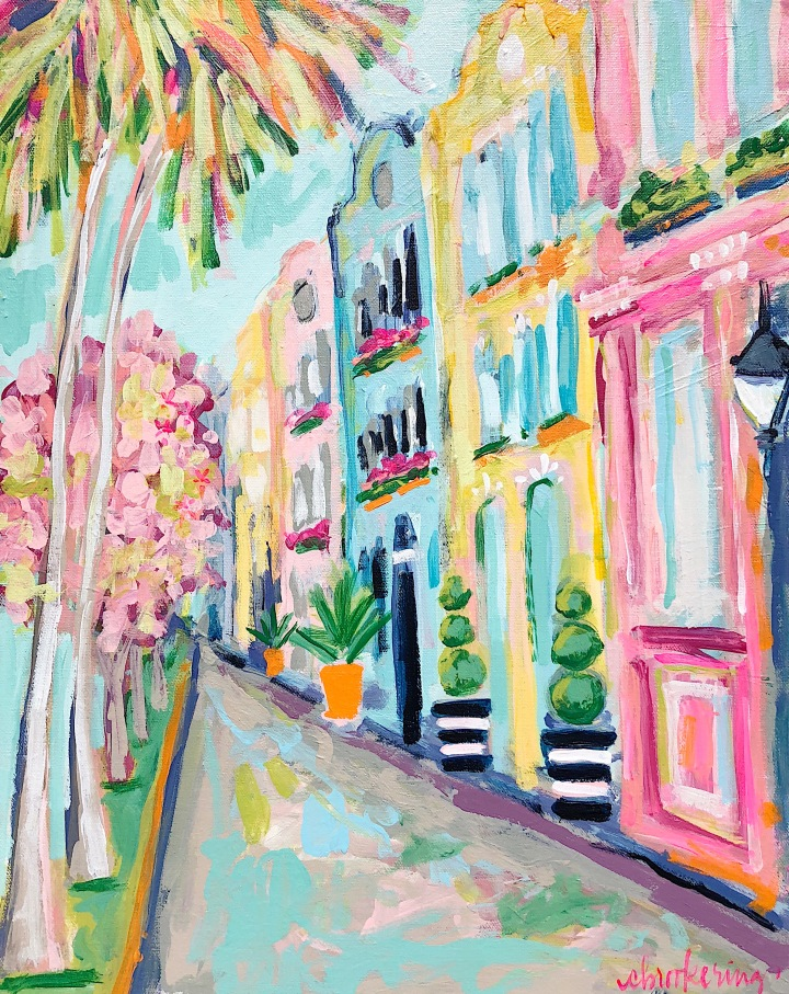 Charleston Paint Class