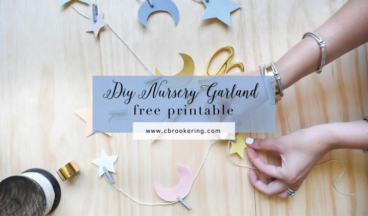 diy nursery garland 2