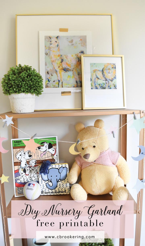 diy nursery garland