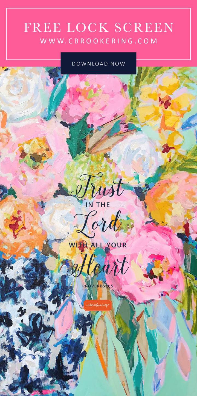 Trust in the Lord LockScreen