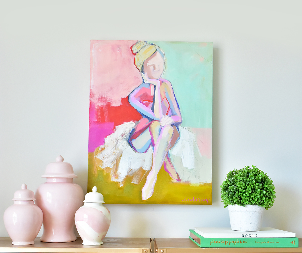 New Ballerina Paintings!