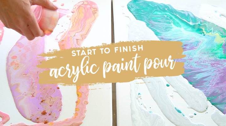 Acrylic Paint Pour + Supply List
