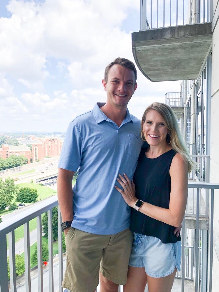 Brooke and Michael balcony.JPG