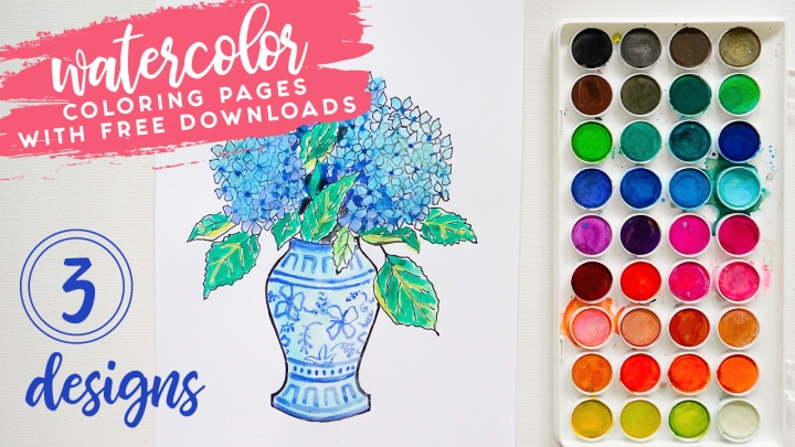 Spring Coloring Sheets! ($100 Giveaway)