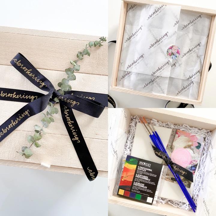 Virtual Paint Class GiftSet