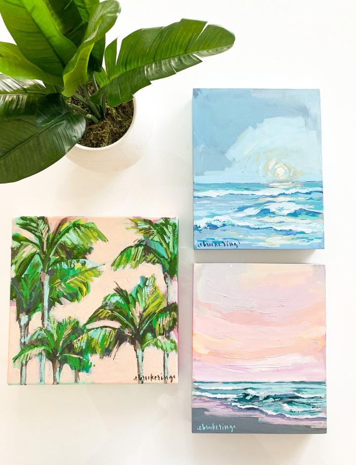 """""""Land + Sea"""" Mini Coastal Series ComingSoon"""